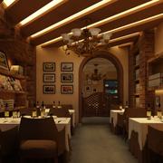 时尚咖啡厅装修效果图