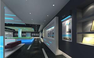 小户型展厅装修效果图