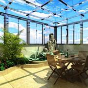 阳光房设计阳台装修效果图