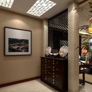 客厅玄关隔断装修灯光设计