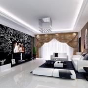 客厅设计沙发背景墙图