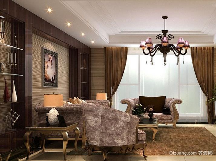 富有人性化北欧风格客厅装修效果图