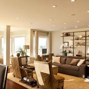 色调温和的客厅装修