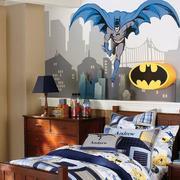 儿童房卧室壁纸装修实景图