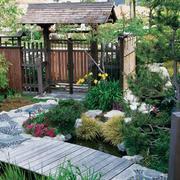 精美的农村别墅入户花园效果图