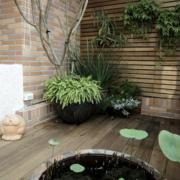 环境优美的阳台装修效果图