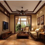 美式风格客厅装修色调搭配
