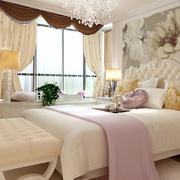 卧室飘窗设计装修图案设计