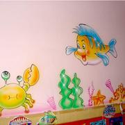 完美的幼儿园壁画图片