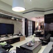 客厅设计电视背景墙