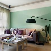 客厅飘窗设计地灯图