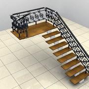 精致楼梯装修效果图模板