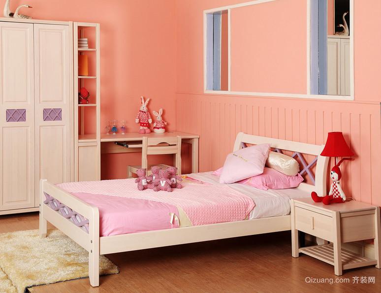 2015充满童趣的精致儿童卧室装修效果图