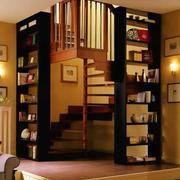 精美实木楼梯装修效果图