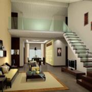 舒适大方的精美客厅装修效果图