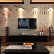 色调鲜明的电视背景墙