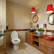卫生间装修瓷砖背景墙