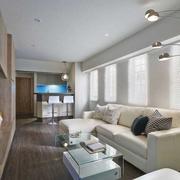 客厅吊顶造型装修沙发设计