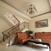 法式风格楼梯设计
