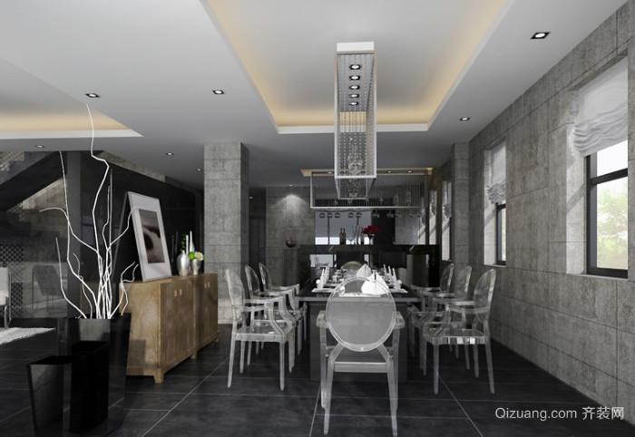 70平米后现代风格餐厅装修效果图