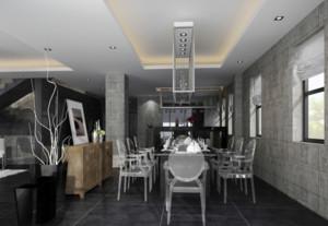 欧式餐厅装修效果图