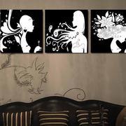 设计独特的沙发背景墙