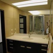 卫生间石膏板装修吊顶图