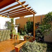 豪华大方的阳台装修效果图