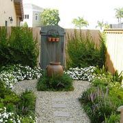 农村别墅入户花园设计实景图