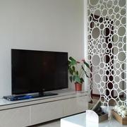 纯情白色客厅装修效果图