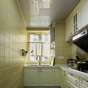 厨房吊顶装修背景墙图