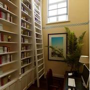 地中海风格书柜装修效果图