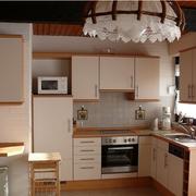 唯美的日式风格厨房装修图