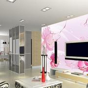 客厅背景墙装修图案设计
