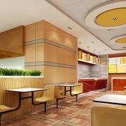 暖色地中海风格餐厅装修图