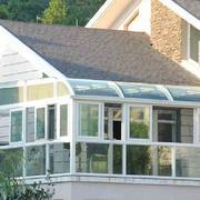 阳光房玻璃幕墙装修整体图