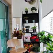 都市家庭室内花架装修图