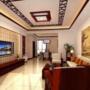 中式风格客厅装修灯光设计