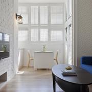 现代客厅飘窗设计效果图