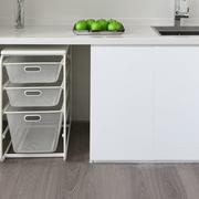 纯白色橱柜设计图