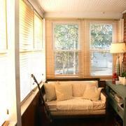 美式阳光房装修背景墙