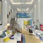 小户型单身公寓装修吊顶图