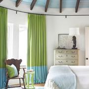 别墅窗帘造型设计