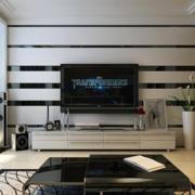 客厅设计电视背景墙图