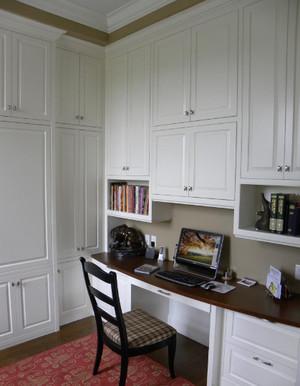 跃层式住宅小书房装修效果图