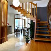实木楼梯造型设计图