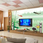 客厅背景墙装修整体图