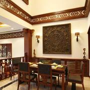 东南亚风格餐厅装修中式设计