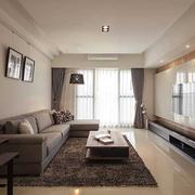 客厅吊顶造型装修色调搭配