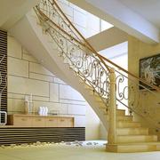 暖色楼梯装修效果图